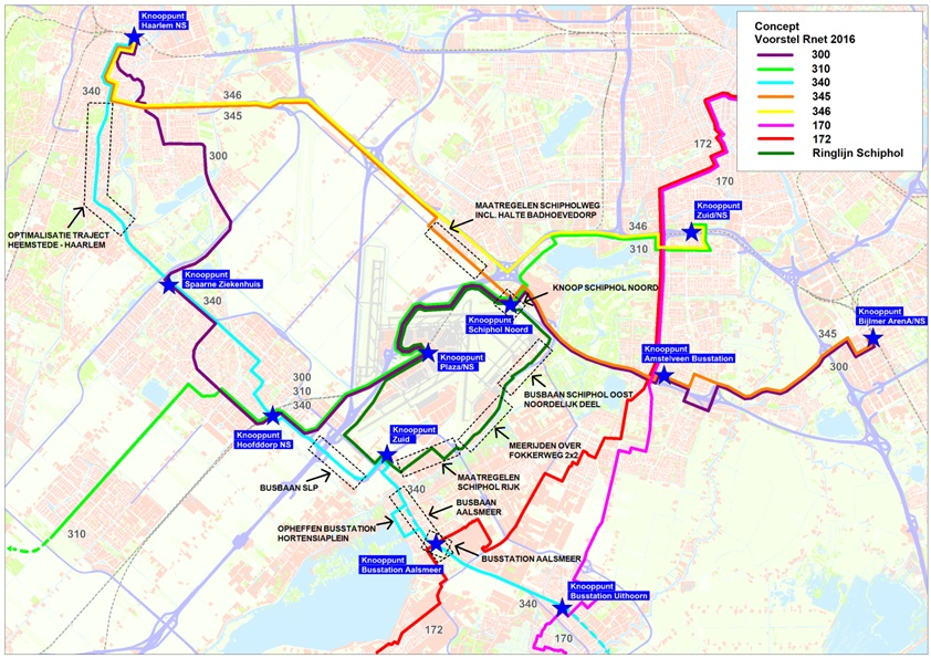 Hoogwaardig Ov Verbinding Aalsmeer Schiphol Zuid